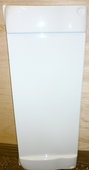 Gas locker door surround White